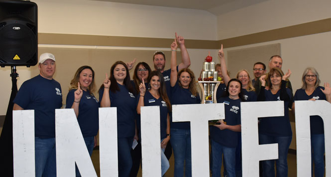 United Way Day of Caring staff photo